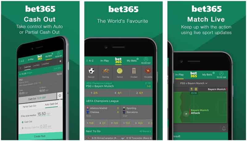 Bet365 app para telefone
