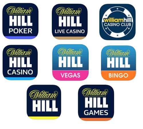 Download de aplicativos do William Hill